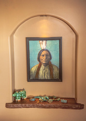 Sitting Bull, 20x16 inch framed