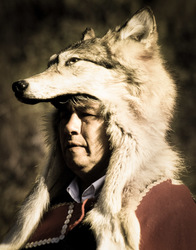 Headman in Wolf Cape