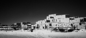 Taos Pueblo #2, Infra-Red Series