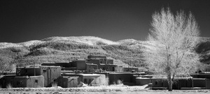 Taos Pueblo #3, Infra-Red Series