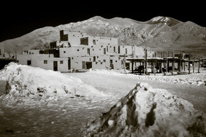 Taos Pueblo, Infra-Red Series