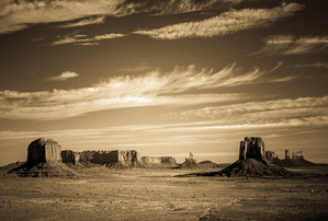 Monument Valley Vista (sepia)