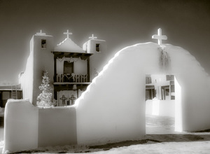 Taos Pueblo Mission, Infra-Red Series