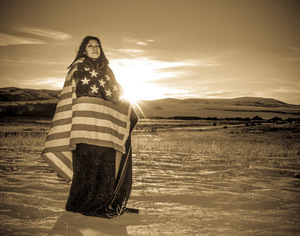 One Flag, One Country (sepia)