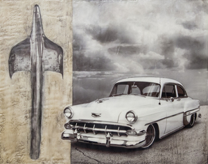 '54 Chevy Ornament / 16x20 inches / $850
