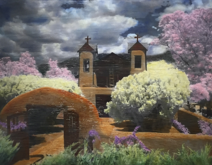 Holy Sanctuary Chimayo, 16x20 inch, $700