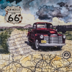 POSTER- Get Your Kicks On Route 66 / 20x24 / $65