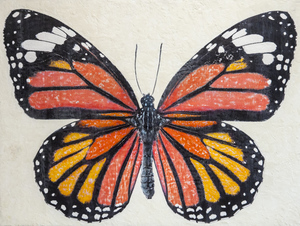 Monarch Butterfly / 36x48x2 inches / $3800