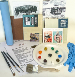 $75 Supply KIT (Hand Coloring Class)