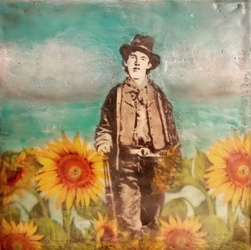 Billy The Kid Sunny Day / 8x8 inch / Sold